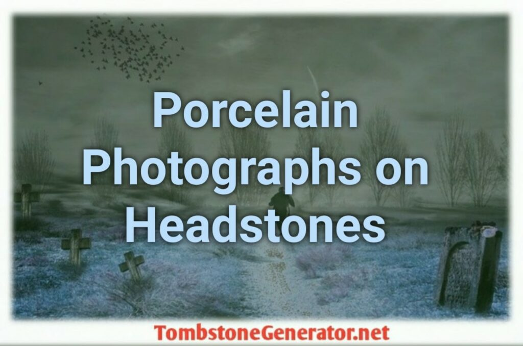 How to Porcelain Photographs on Headstones