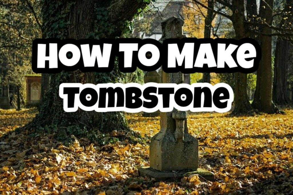 how to make tombstone online